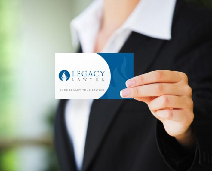 Legacy Lawyer Logo Design