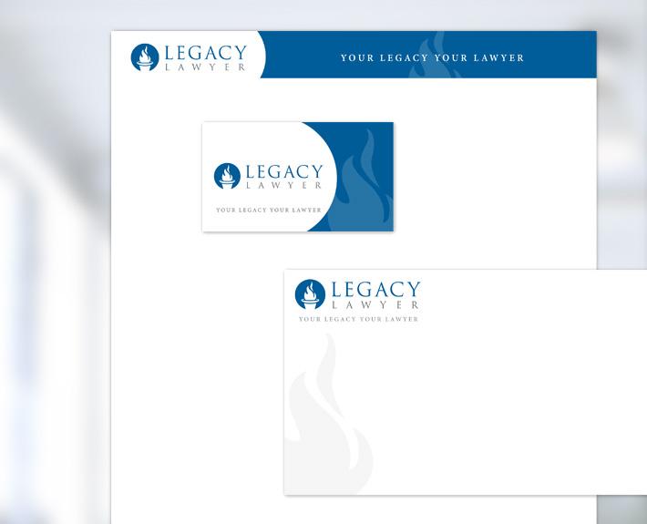 Legacy Lawyer Stationary Design