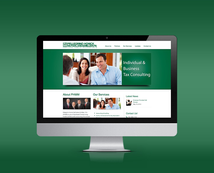 PHMM Website Design