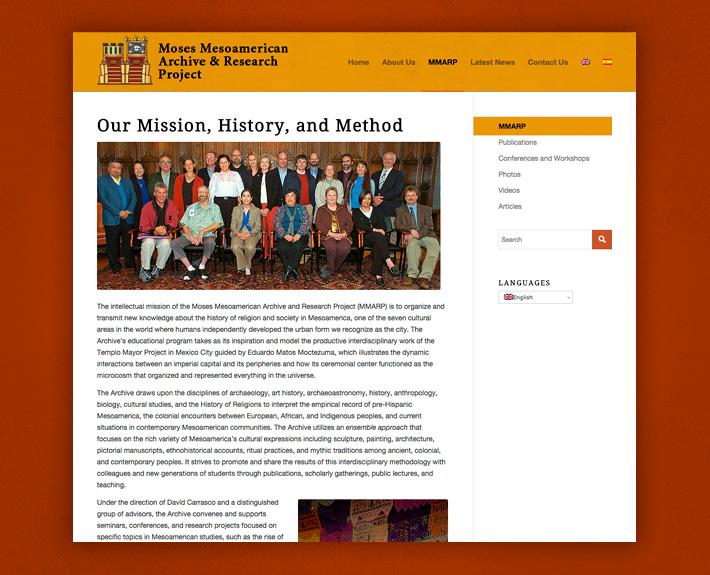 MMARP Mission History & Method