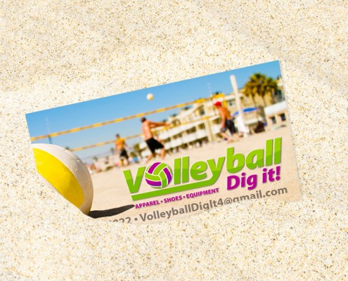 Volleyball Business-Card