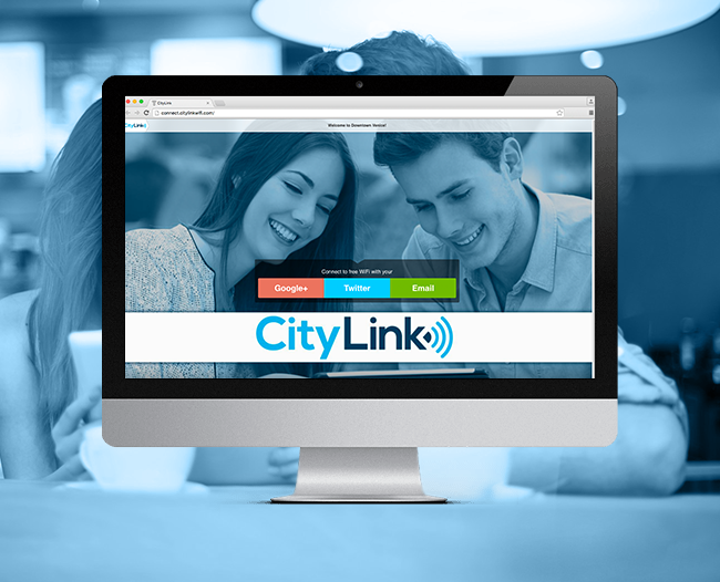 City Link Login Page