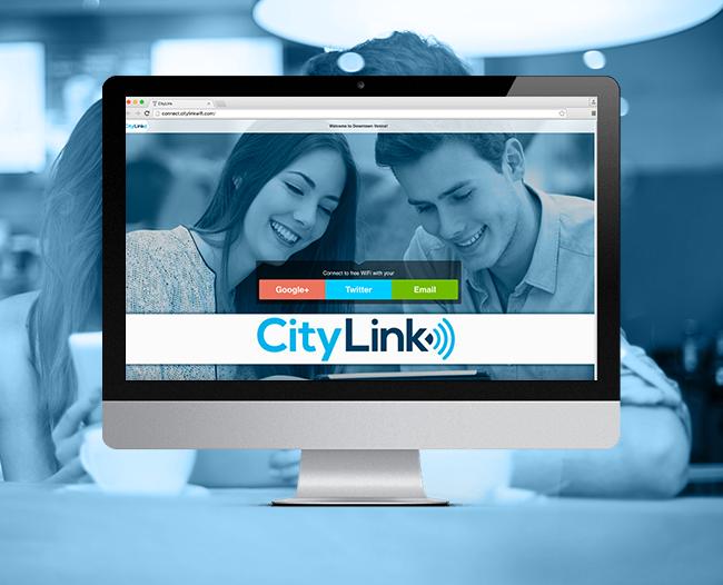 City Link Login Page
