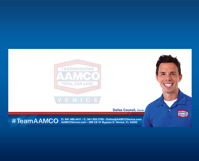 AAMCO Thank You Card