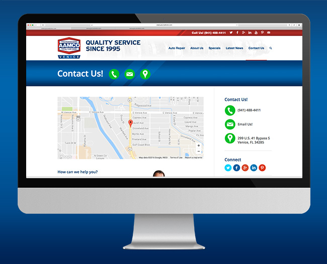AAMCO Website Contact