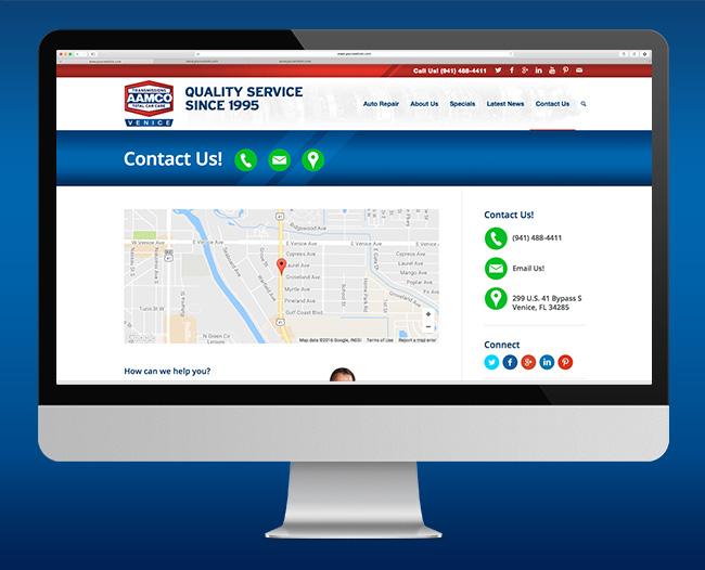 AAMCO Website Contact