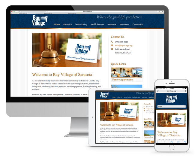 Bay Village Responsive Website