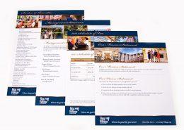 Bay Village Waterfall Sales Sheets
