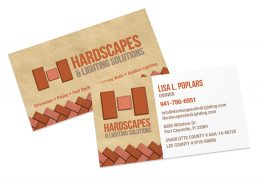 Hardscapes Business Card Printing