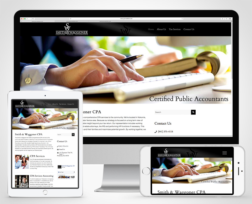 CPA Website Smith & Waggoner CPA