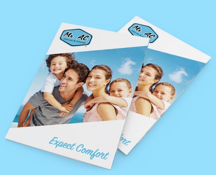 Brochure Design Mr. AC
